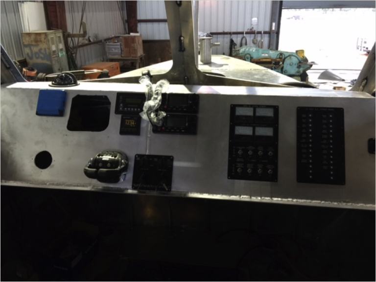Begin Outfitting Cabin Console