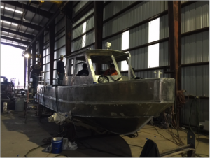 UPDATE: Rigid Hull Boat (RHIBs) Construction Moving Forward