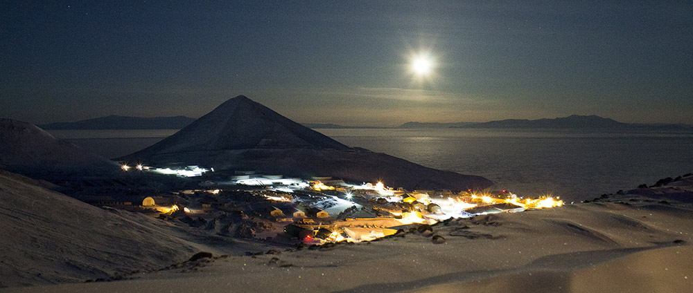 McMurdo Moon in June